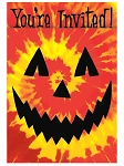Psychedelic Spooks Party Invitations