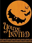 Scary Silhouettes Party Invitations