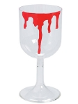 Bloody Wine Plastic Wine Glass