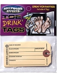 Toe Tag Party Drink Tags