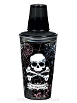 Skull and Crossbones Cocktail Shaker