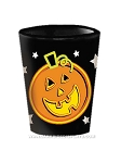 Neon Night Pumpkin Shot Glass