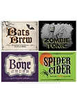Halloween 2 Liter Bottle Labels