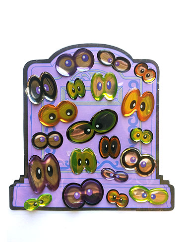Creepy Eyes Dimensional Stickers
