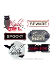 Martha Stewart - Vampire Phrases Stickers