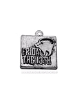 Friday the 13th Pewter Charm