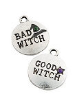 Good Witch - Bad Witch Charm Set