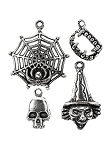 Tis The Season Halloween Charm Set