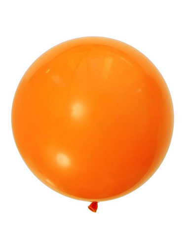 Orange 36 inch Latex Balloons