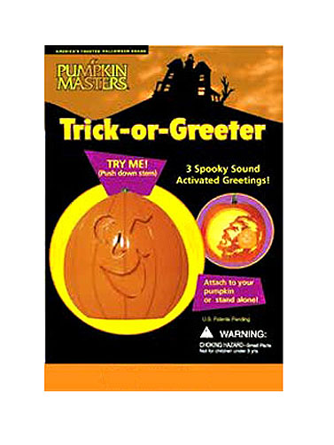 Pumpkin Masters Trick or Greeter