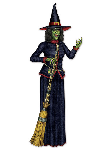 Jointed Witch Cut-Out
