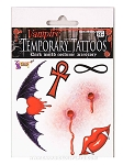 Vampire Temporary Tattoo Set