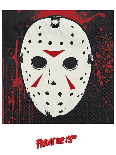 Friday the 13th Beverage Napkins