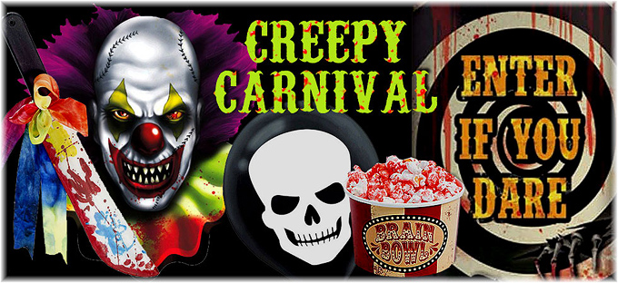 Halloween Carnival Decorations