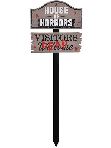 House of Horrors Lawn Stake