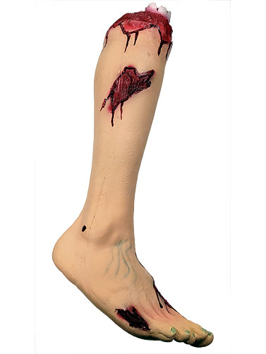Latex Bloody Leg Prop