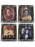 Spooky Lenticular Vintage Portraits -Set of 4