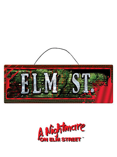 Nightmare on Elm Street Sign