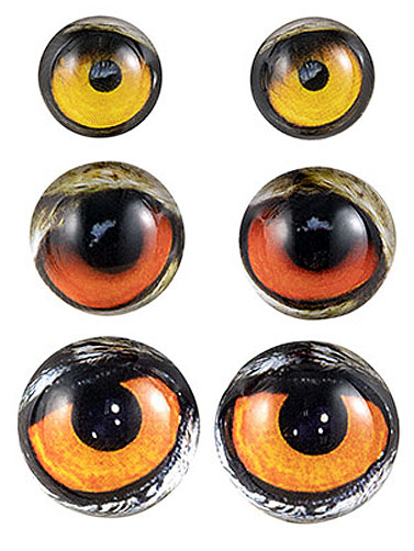 Steampunk™ Owl Eyes Jewelry Charms