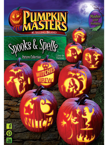Spooks & Spells Pattern Book