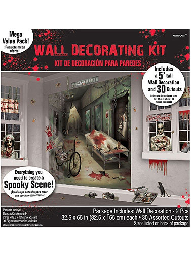 Scene Setters - Asylum Wall Decor Kit