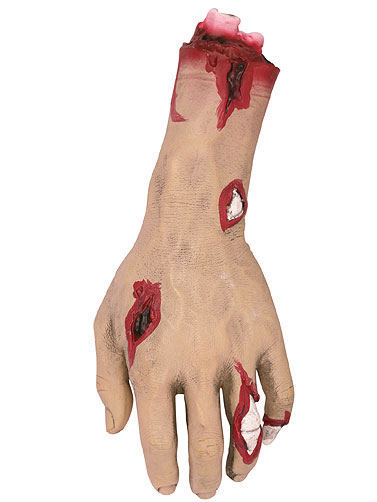 Severed Zombie Hand Prop
