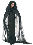 The Haunted Black Robe with Dress