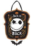 Nightmare Before Christmas Jack is Back Sign