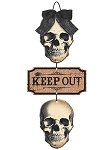 Boneyard Keep Out Sign
