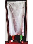 Clown Door Curtain Prop