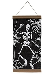 Skeleton Canvas Wall Banner