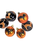 Halloween Cat Ornaments