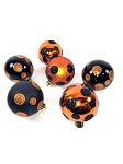Halloween Dots Ornaments