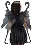 Adult Black Fairy Wings