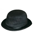 Adult Black Derby Hat