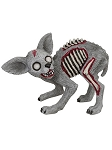 Zombie Terrier Dog Statue
