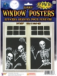 Skeleton Window Posters