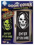 Glow In Dark Skull Door Cover