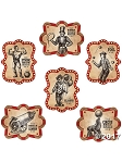 Large Vintage Circus Poster Decorations