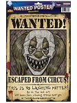 Wanted Clown Poster