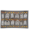Tombstones Rectangular Glass Plate