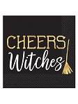 Cheers Witches Beverage Napkins