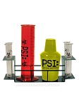 PSI Laboratory Themed Drink Set