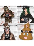 Halloween Costume Line Up Background