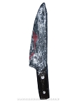 Bloody Latex Knife Prop