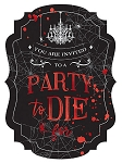 Dark Manor Jumbo Party Invitations