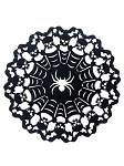 Metal Spider Web Charger Plate
