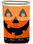 Flings Jack-O-Lantern Pop-Up Trash Bin