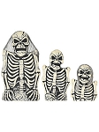 Foam Skeleton Tombstone Set
