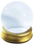 Glass Crystal Ball Prop